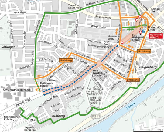 Ecotess Gmbh Straßenbahn Ulm Linie 2